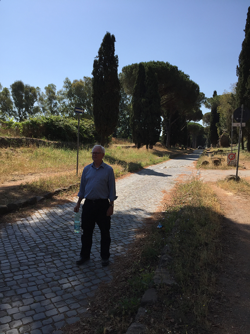 jim on appian way.jpg