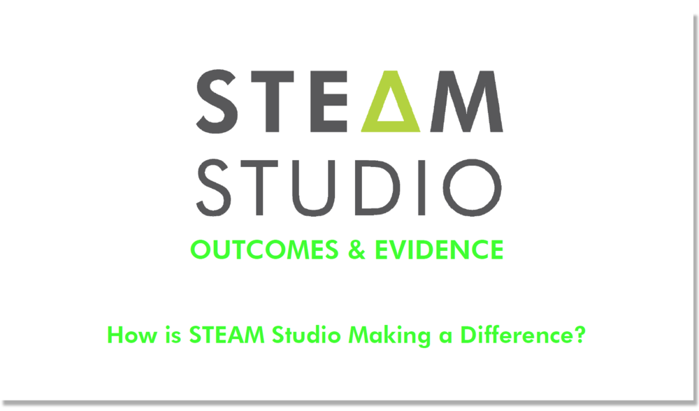 How is STEAM Studio making a difference?