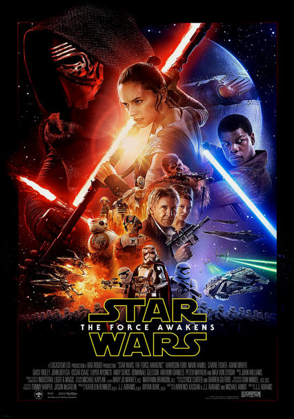 Star Wars VII: The Force Awakens on DVD/Blu-ray to Rent