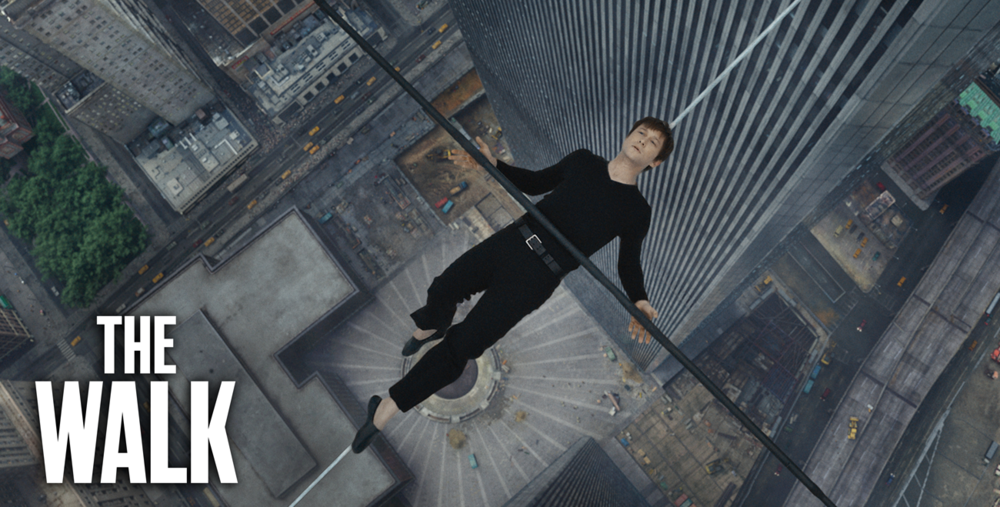 Biographical drama The Walk stars Joseph Gordon-Levitt as a daring high-wire artist.