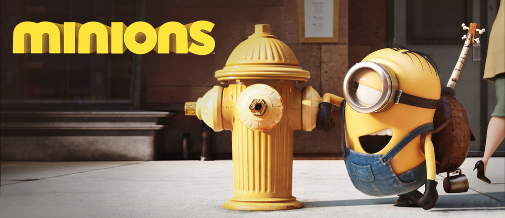 Everyone's favorite adorable sidekicks now star in their own movie, Minions.