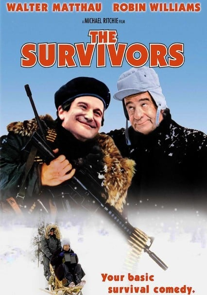 The Survivors DVD/Blu-ray for Rent