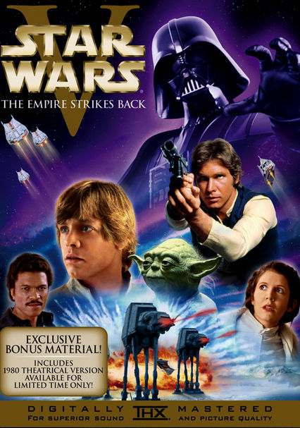 Rent Star Wars V: The Empires Strikes Back DVD