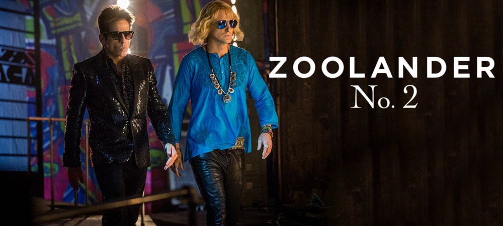 Rent Zoolander 2 DVD and Blu-ray
