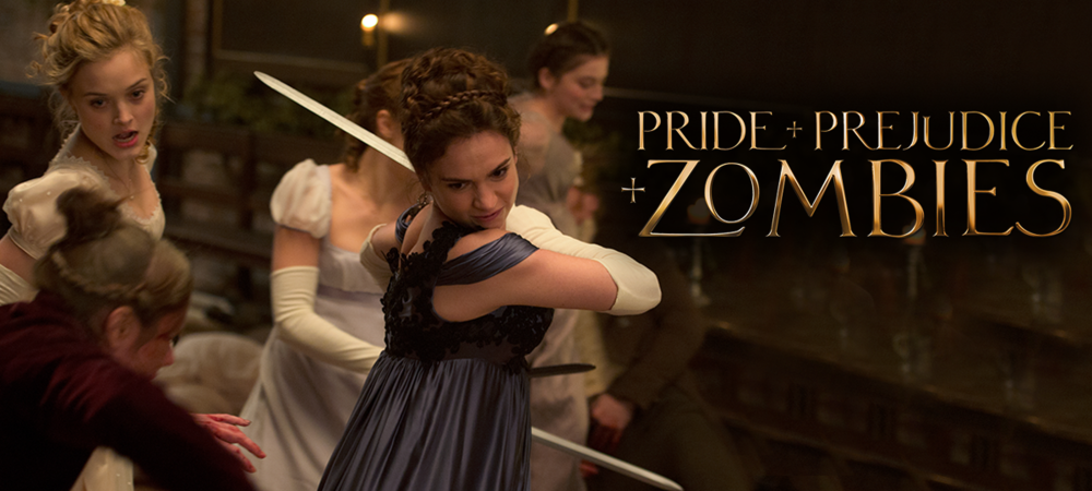 Rent Pride and Prejudice and Zombies DVD and Blu-ray