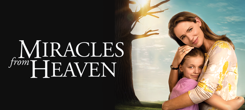 Rent Miracles from Heaven DVD and Blu-ray