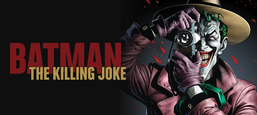 Rent Batman: The Killing Joke DVD