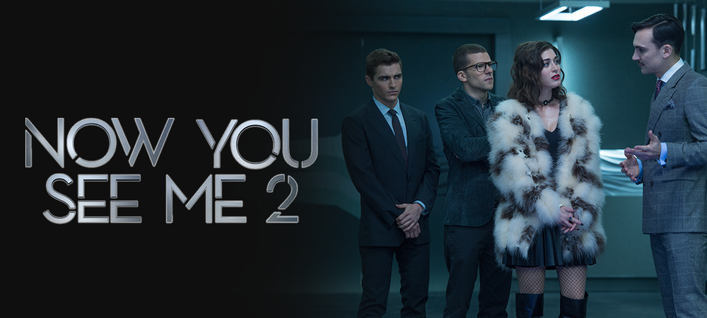 Now You See Me 2 DVD and Blu-ray