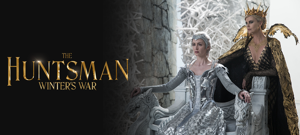 The Huntsman: Winter's War DVD and Blu-ray