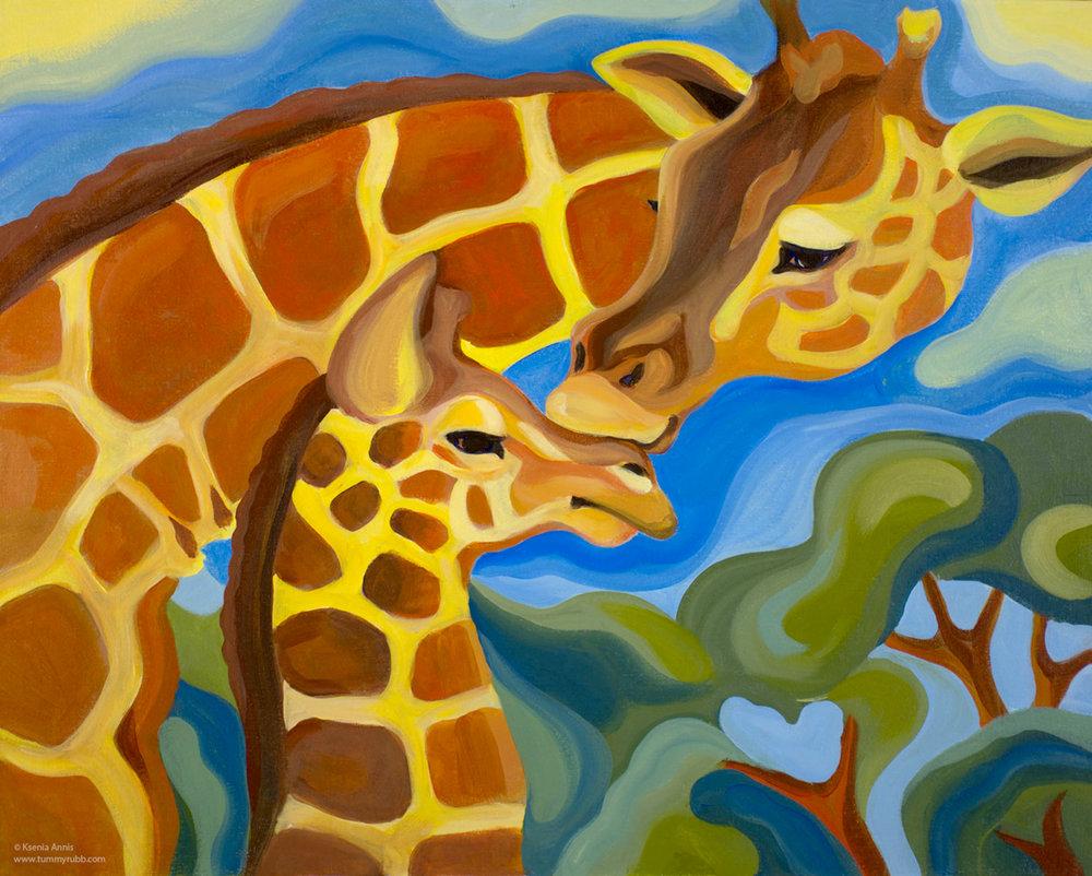 Ksenia Annis African Journey_Giraffes.jpg