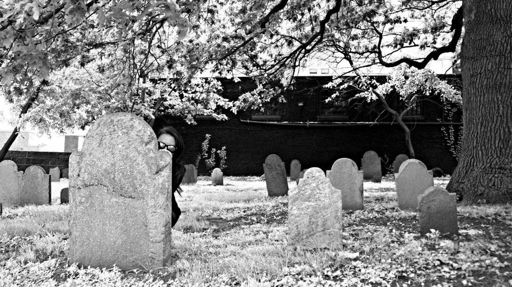 Graveyard, Hocus Pocus. Salem, MA.  I couldn't resist. Creepy, Salem graveyards.