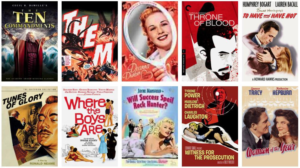 Rent a classic film marathon