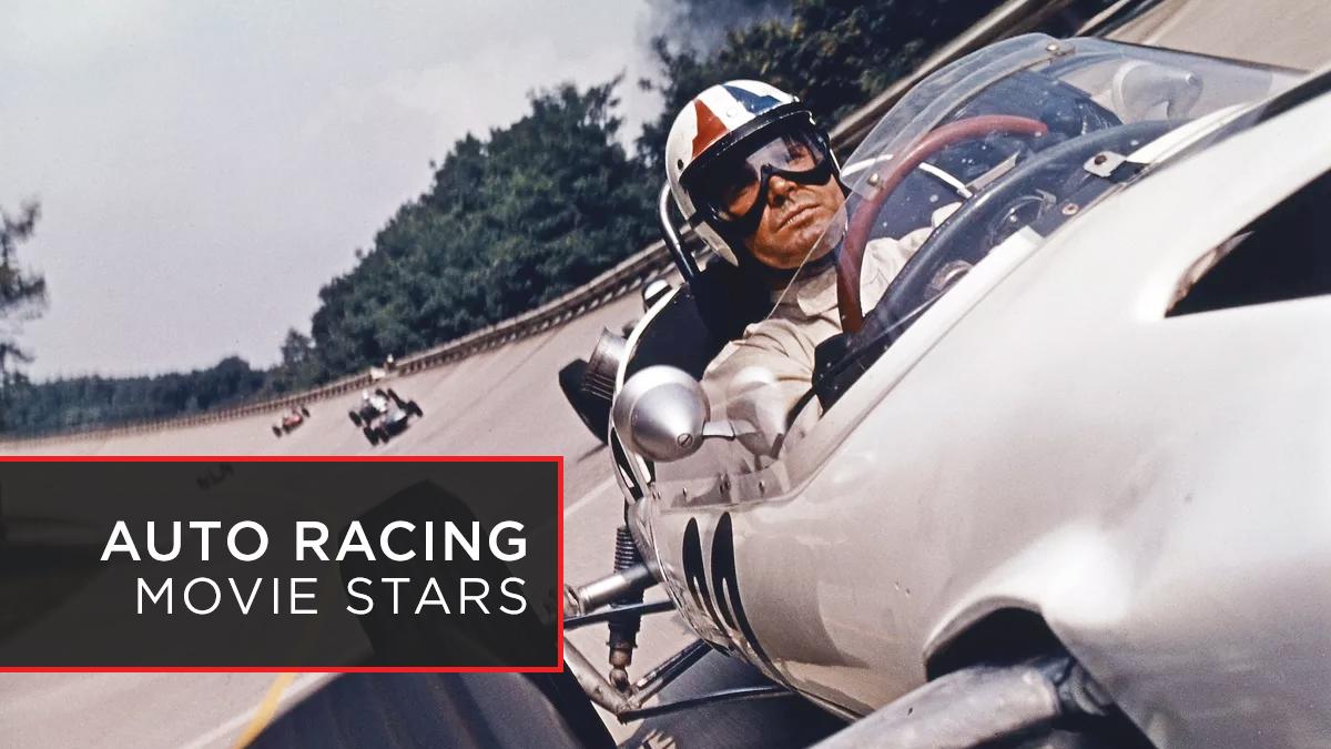 Newman Mcqueen Garner Auto Racing Movie Stars Netflix