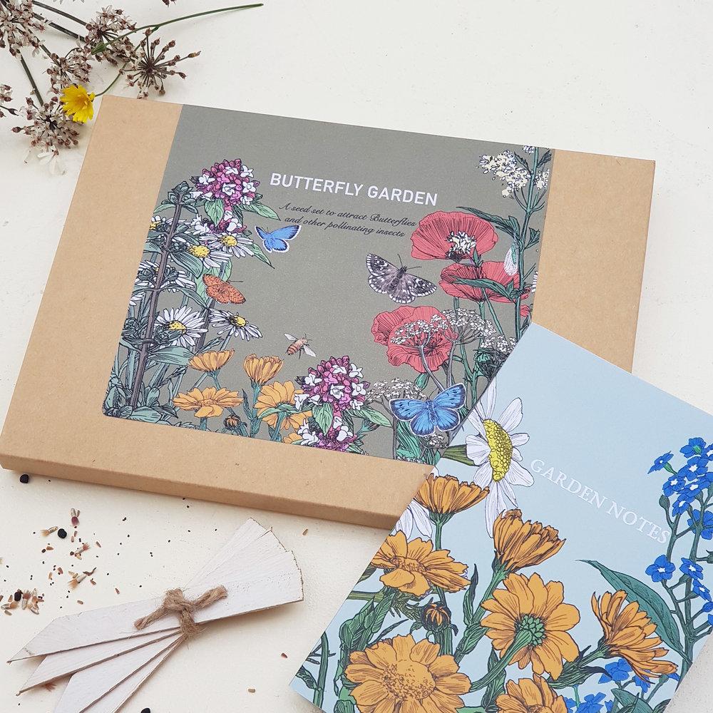 Butterfly Garden Set