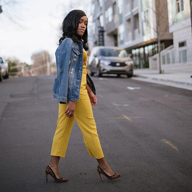 Never underestimate the versatility of a denim jacket. A good denim jacket will always hold you down.  #BeEssntl✨