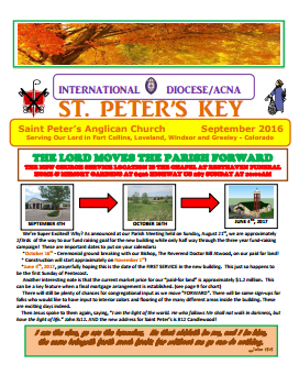 St. Peter's Newsletters