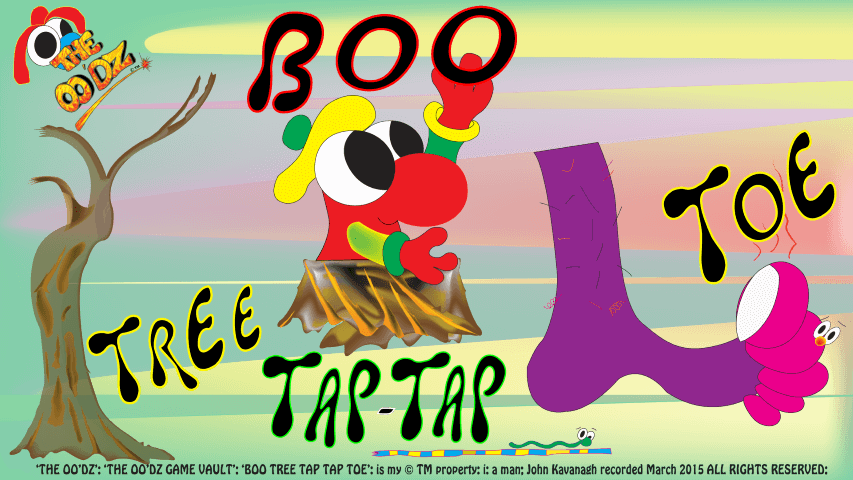 BOO Tree Tap-Tap Toe