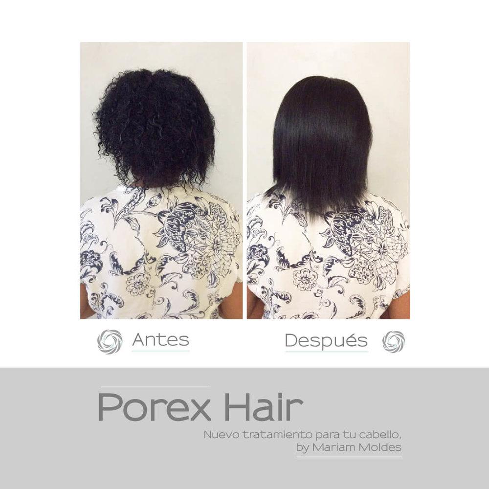 Porex Hair Alisa tu pelo sin químicos