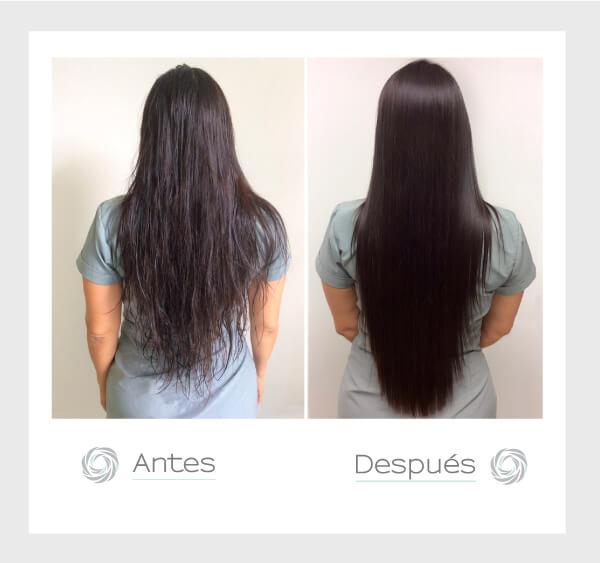 Liso extremo con el tratamiento porex  Hair