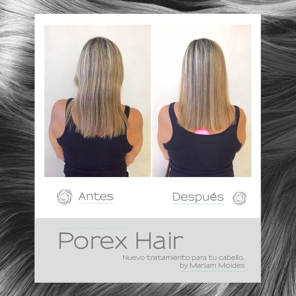Porex Hair solo en curridabat