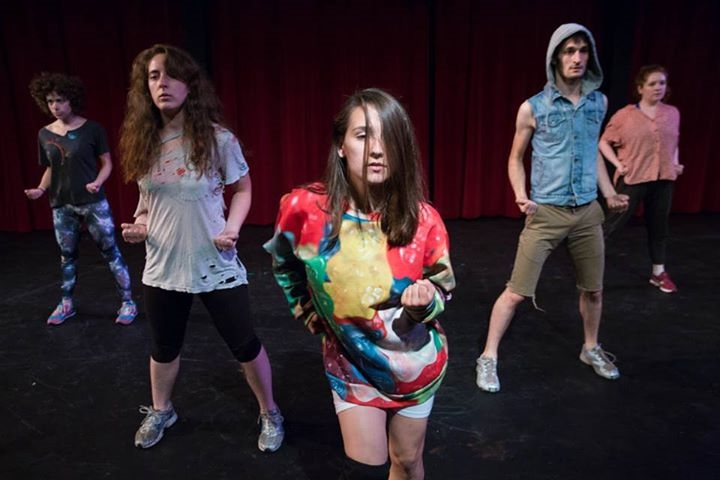 DaNCEBUMS perform at Minneapolis Theater Garage