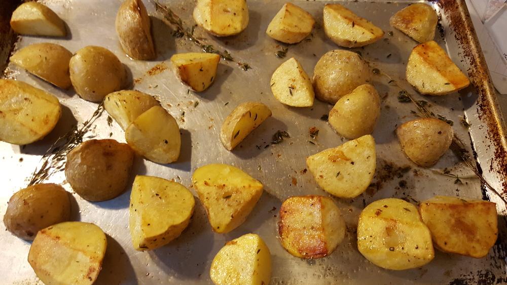 Roast until crisp and delicious.
