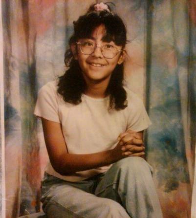 Me in 4th grade.