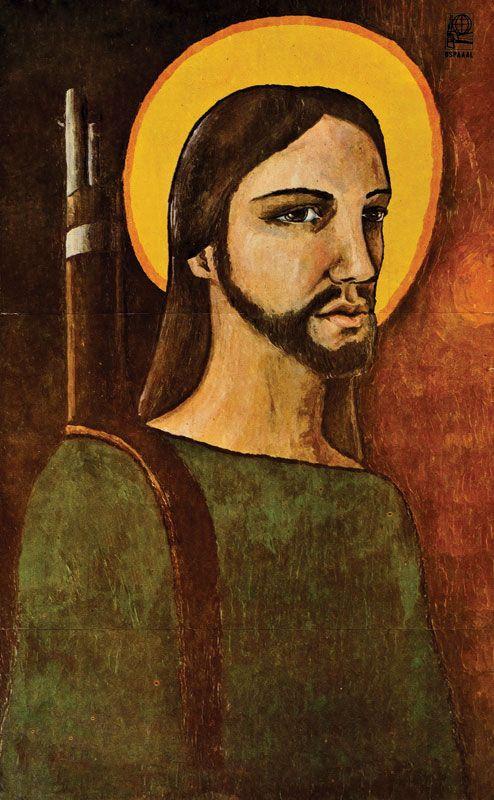 """Alfredo Rostgaard , 1969 """" Christ guerrilla"""""""