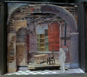Model for Plays from the Provincetown Players, designed by Andy Hall