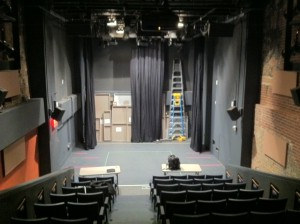 An interior view of the Provincetown Playhouse, January 2011.