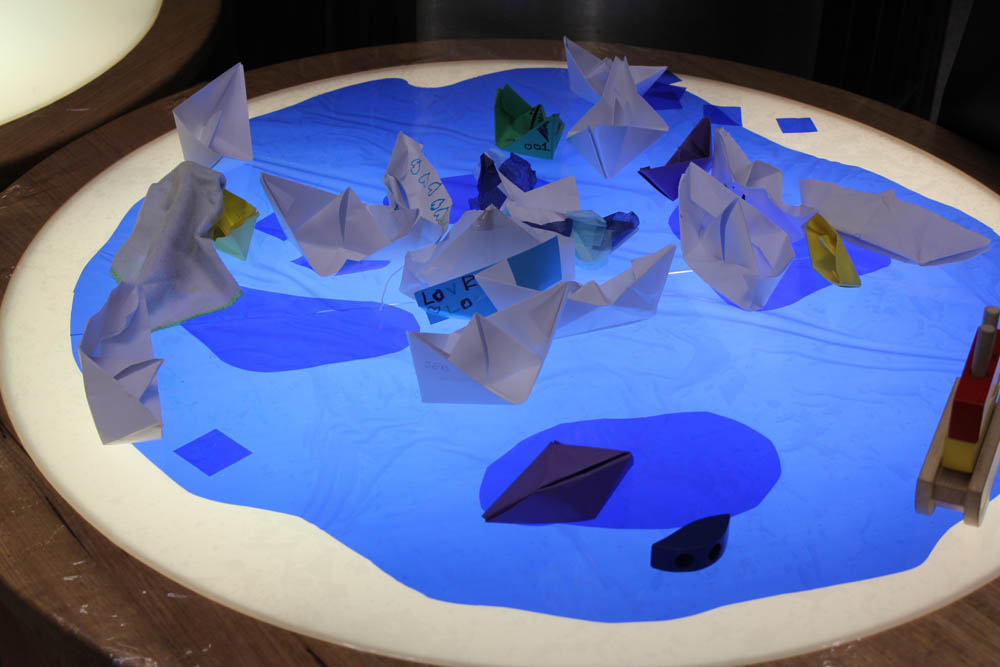'A River' in Play Pod for State Library Victoria.