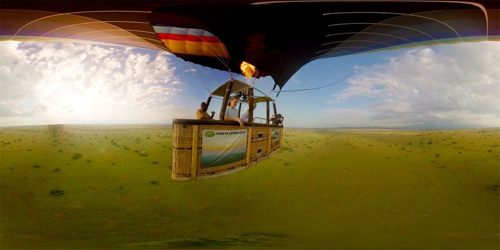 'Balloon ride in Uganda' by VR Gorilla