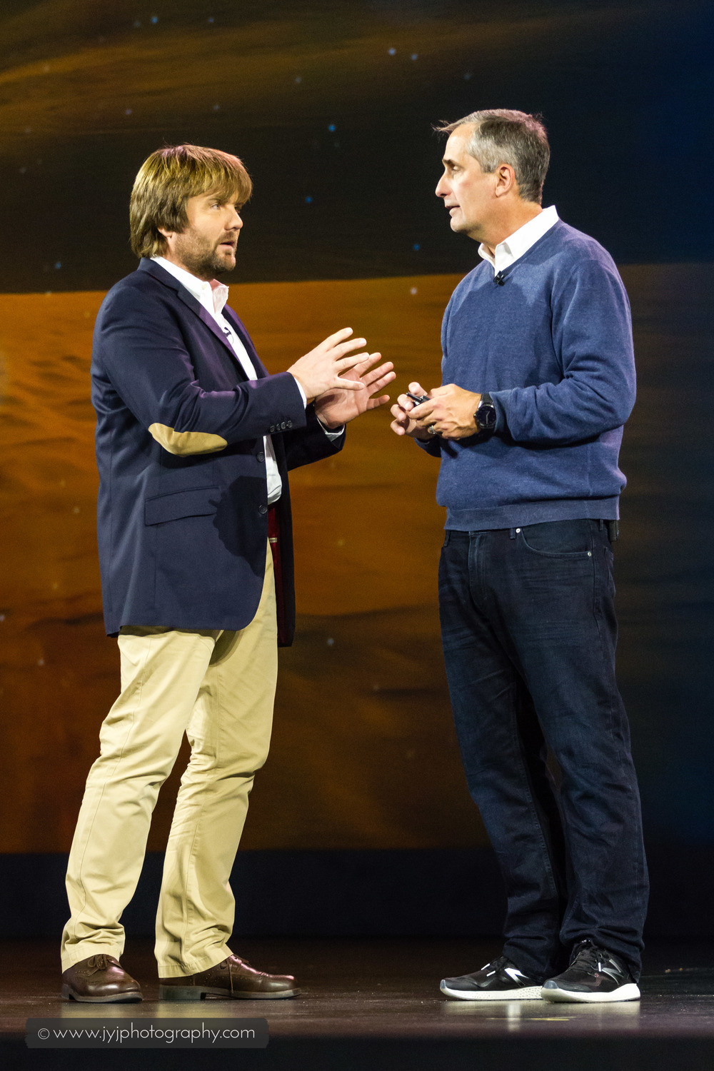 Andreas Gall and Brian Krzanich