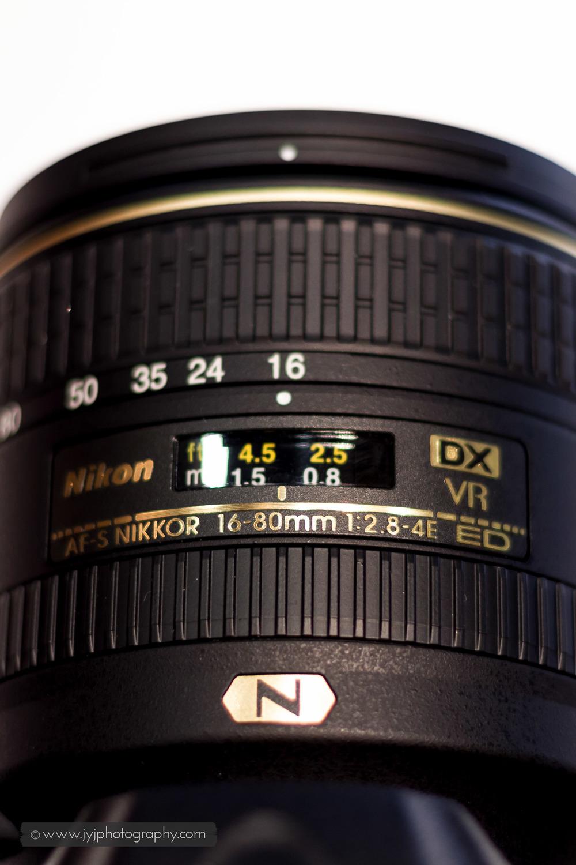 D500's kit lens, Nikkor 16-80mm f/2.8-4E