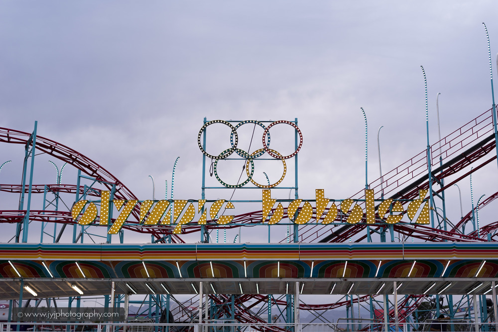Olympic Bobsled Roller Coaster