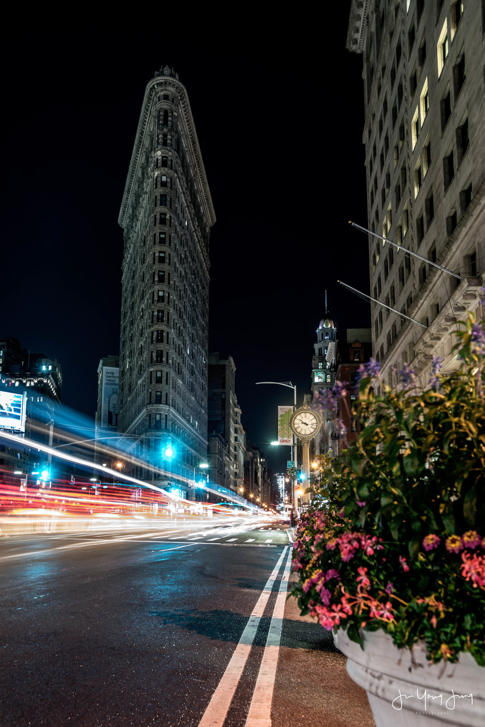 Late Night at Flatiron  - Purchase this photo through my print store!