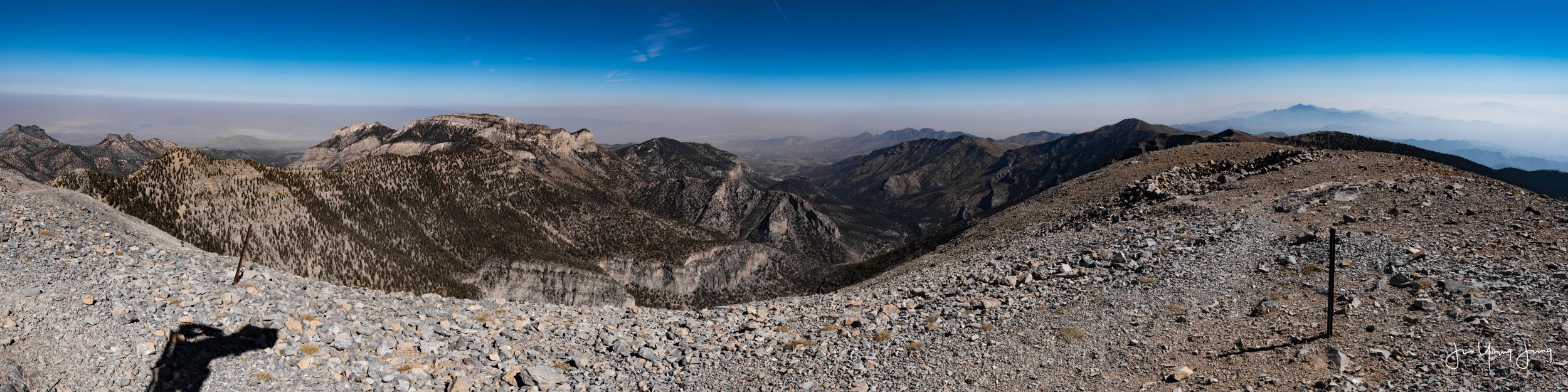East View from Mt. Charleston Peak