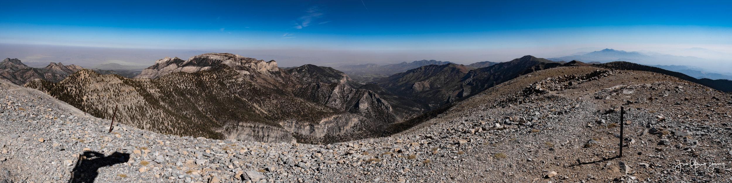 East View from Mt. Charleston Peak