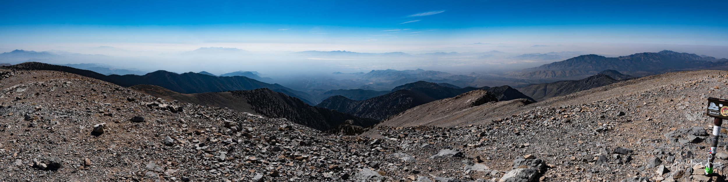 West View from Mt. Charleston Peak