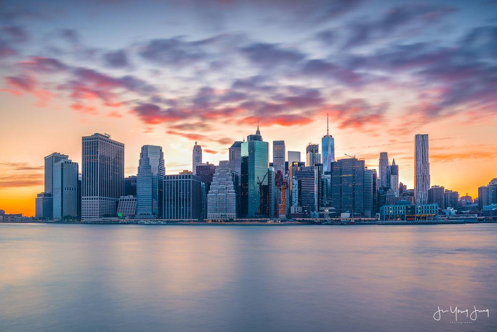 New York City from Brooklyn