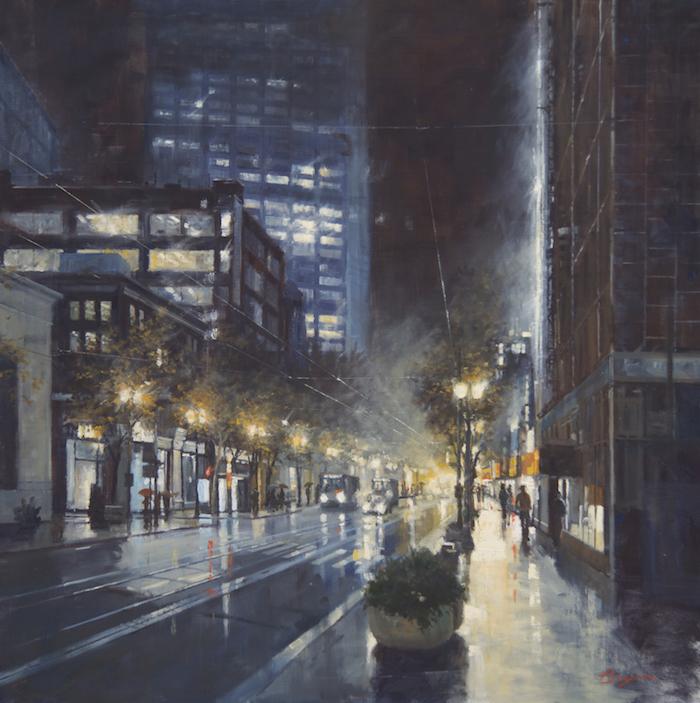 Evening Glow 48x48