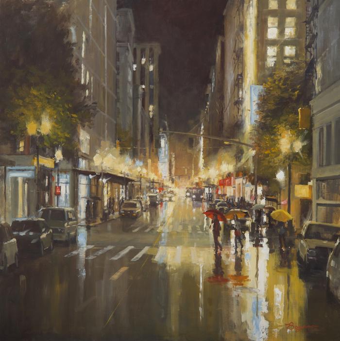 City Lights 30x30