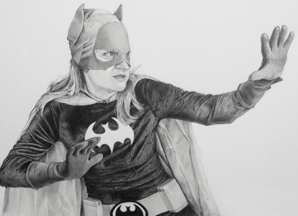 Elsie as Batgirl of Gotham City