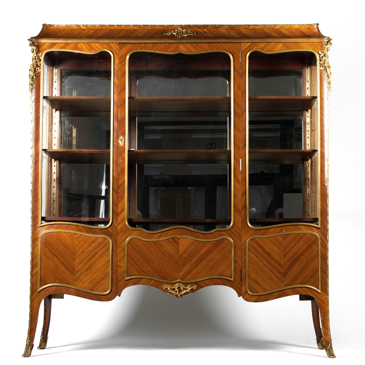 Antique Louis XV Vitrine — La Maison Supreme Ltd.