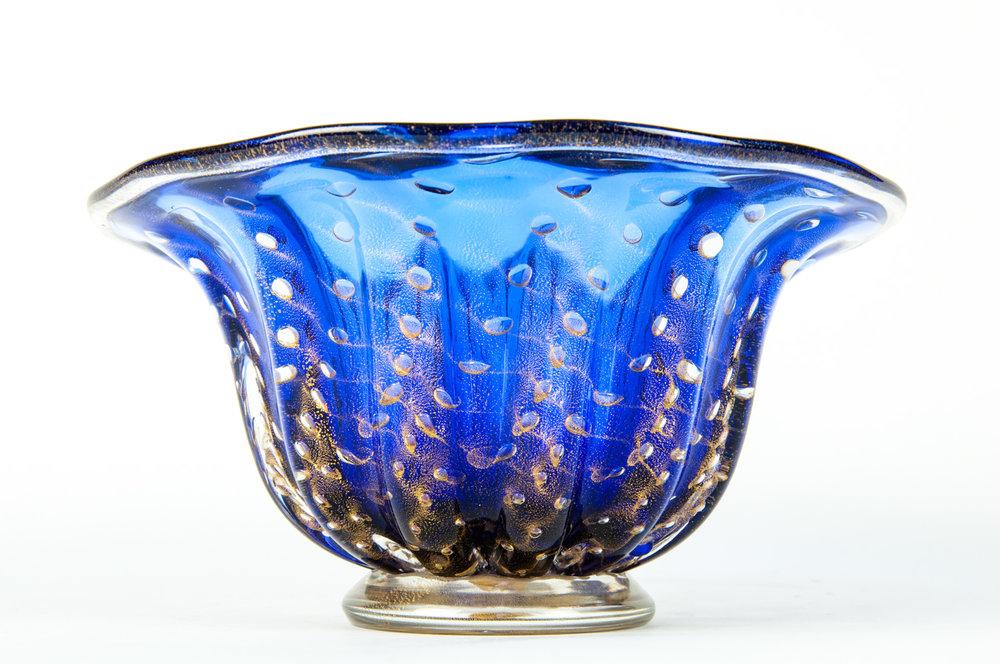 Mid Century Murano Glass Decorative Bowl Piece La Maison Supreme