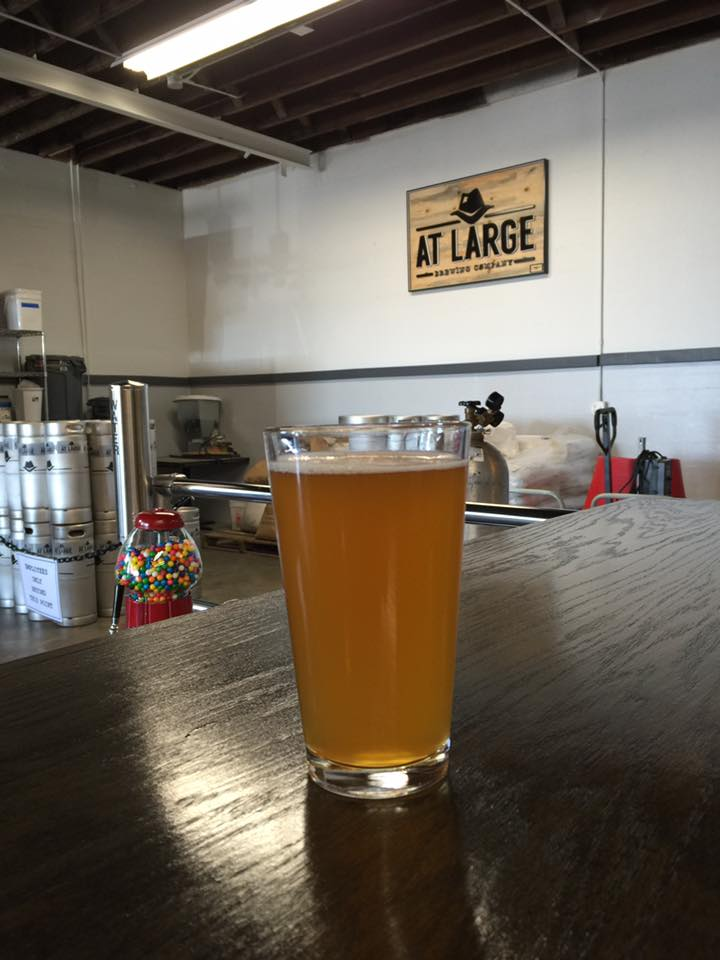 Bonnie, Session IPA (photo stolen from At Large's Facebook).