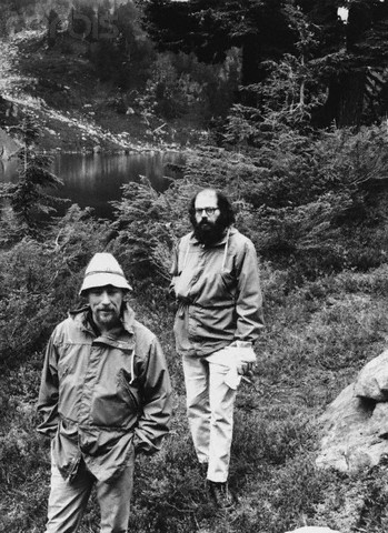 Gary Snyder and Allen Ginsberg