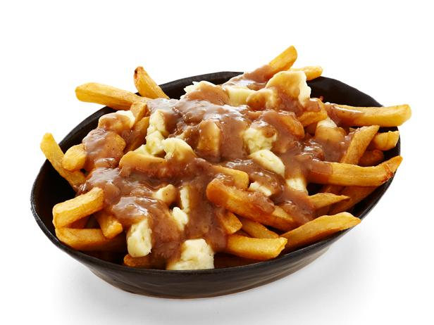 Poutine: classic hockey food.