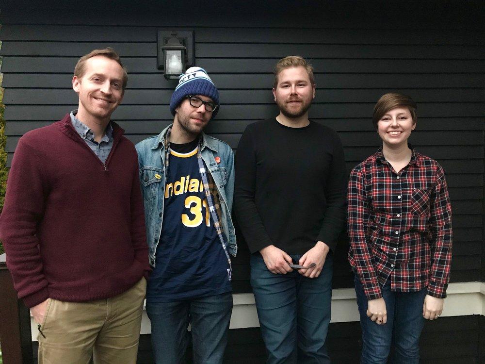 Garret, Henry, Tyler, and Anna