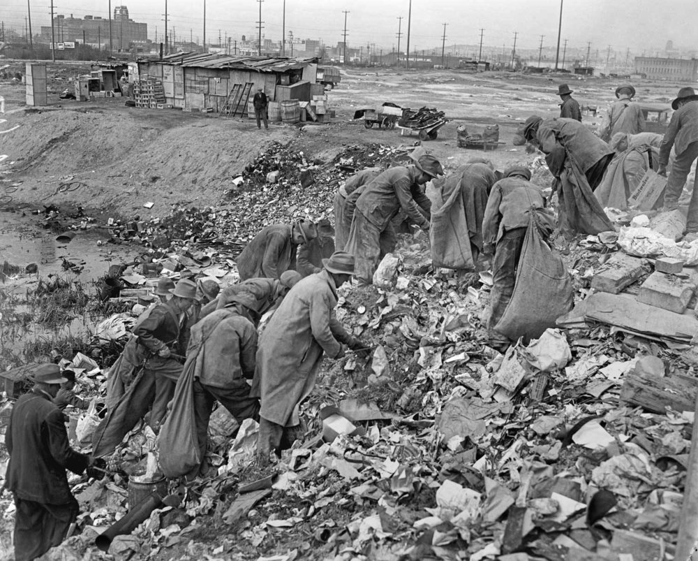 """Seattle's """"Hooverville"""" // Unknown"""